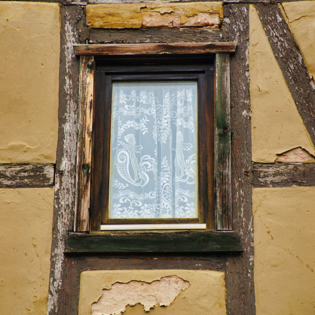 """Half-timbered window"" stock image"
