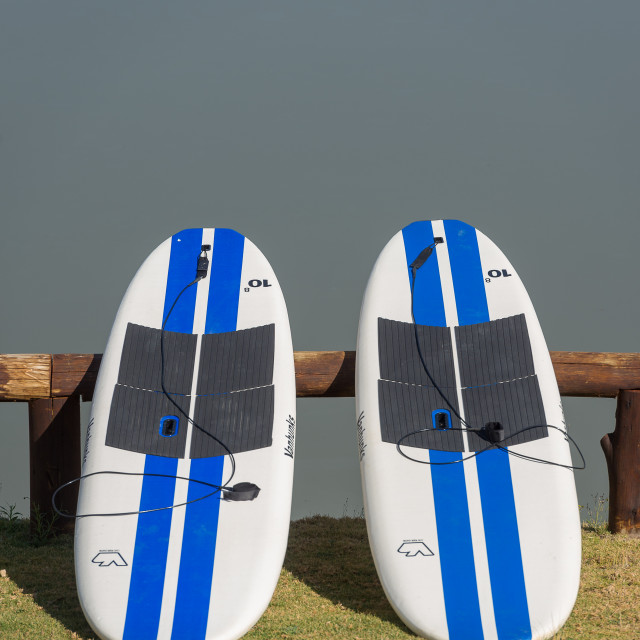 """""""Stand Up Paddle Boards"""" stock image"""