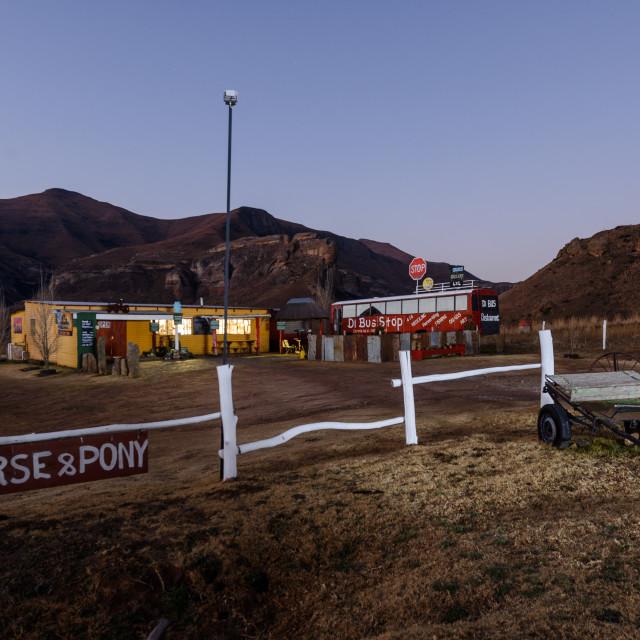 """Roadside store"" stock image"