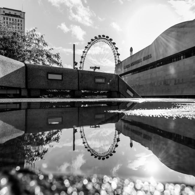 """""""South Bank - London, UK (II)"""" stock image"""