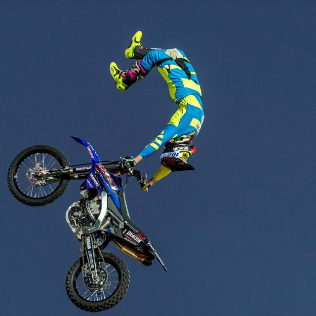 """""""FMX Stunt"""" stock image"""