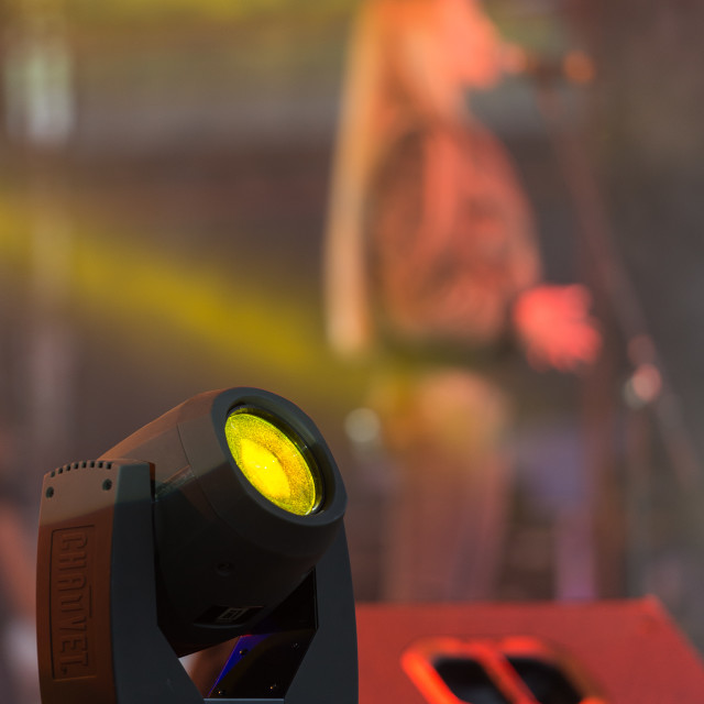 """Stage Light"" stock image"