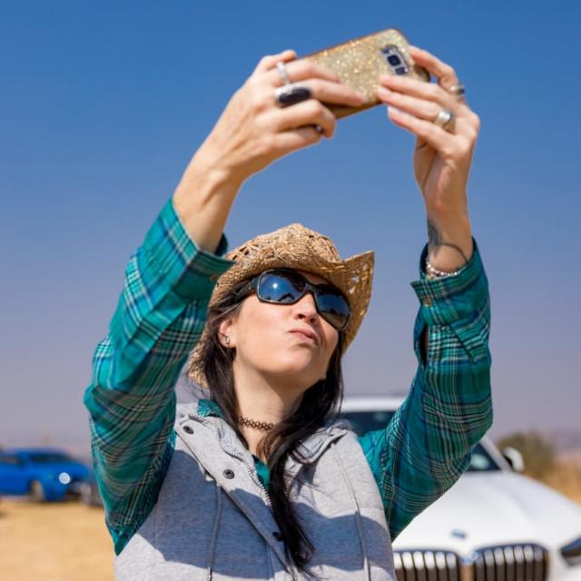 """""""Car Selfie"""" stock image"""