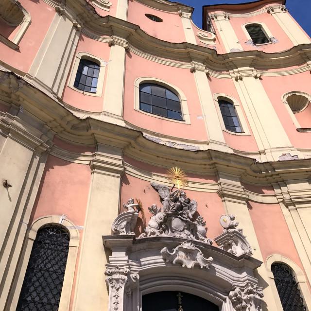"""""""Trinity Church"""" stock image"""