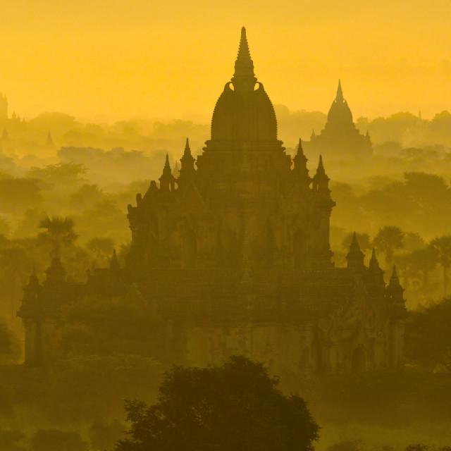 """Bagan Sunrise 01"" stock image"