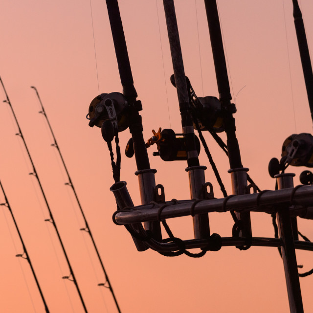 """""""Rods and Reels"""" stock image"""