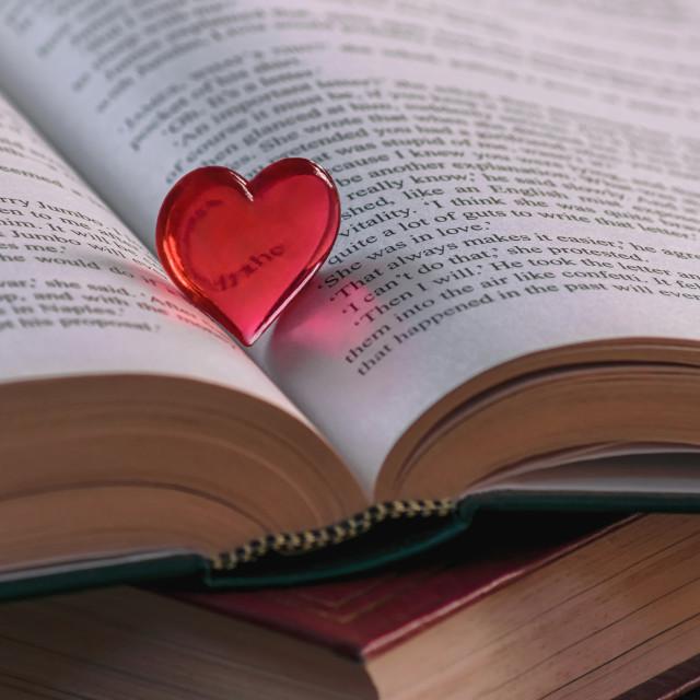 """Love Story"" stock image"