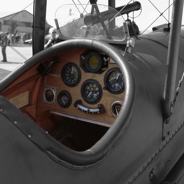 """Aircraft"" stock image"