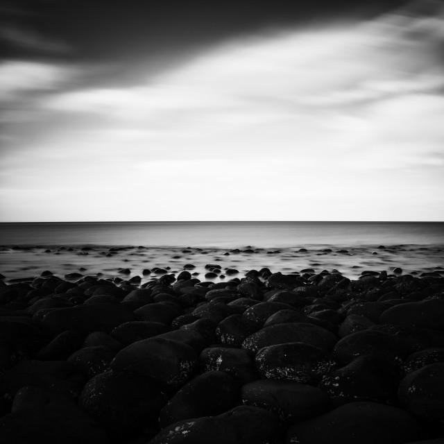 """Northumberland Coastal Scene"" stock image"