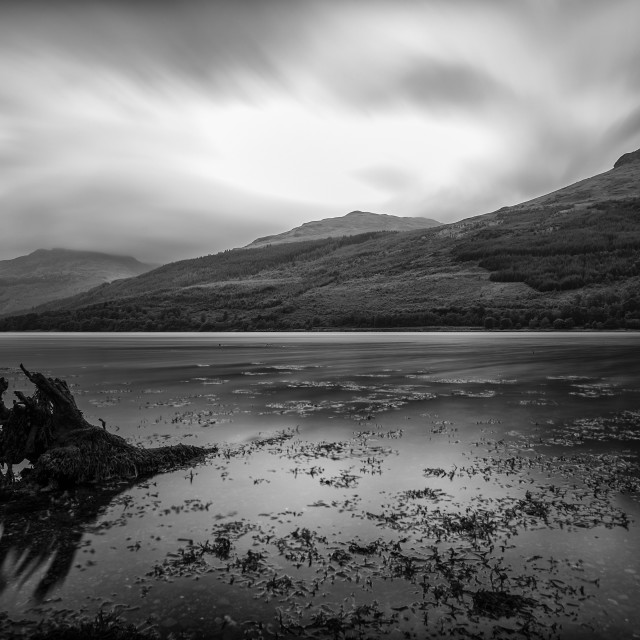 """""""Time Passes at Loch Long (Scotland)"""" stock image"""