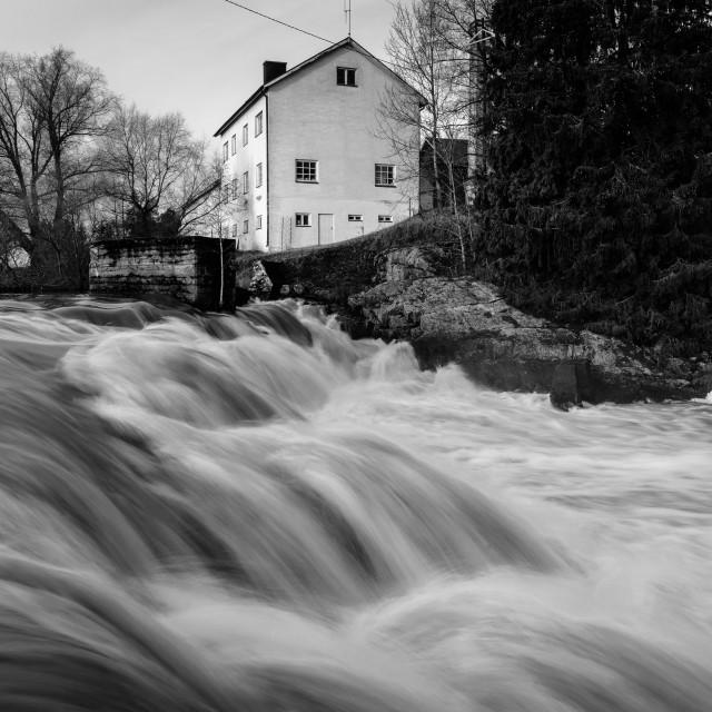 """Lahankoski Rapids"" stock image"