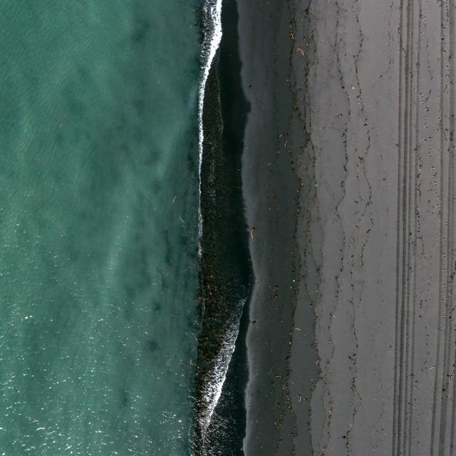 """ICELAND SEA SIDE"" stock image"