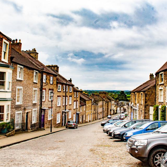 """Frenchgate, Richmond, North Yorkshire."" stock image"