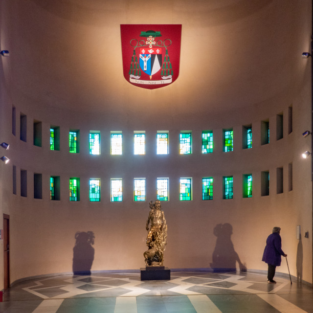 """Interior, Liverpool Metropolitan Cathedral"" stock image"