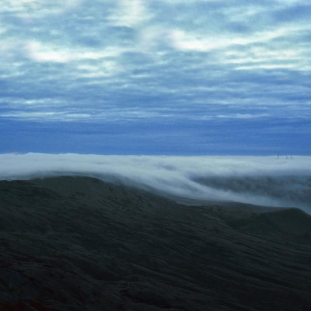 """""""Mist on Blackstone Edge"""" stock image"""