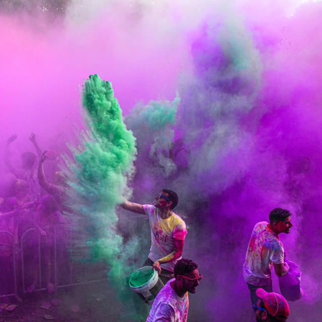 """""""Colour Burst Action"""" stock image"""