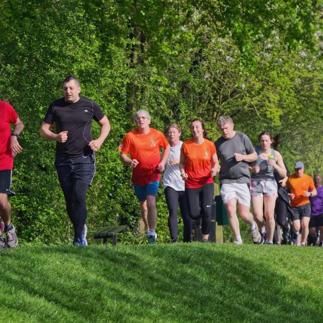"""Park Run"" stock image"