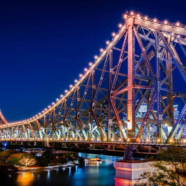 """""""Brisbane Story Bridge"""" stock image"""