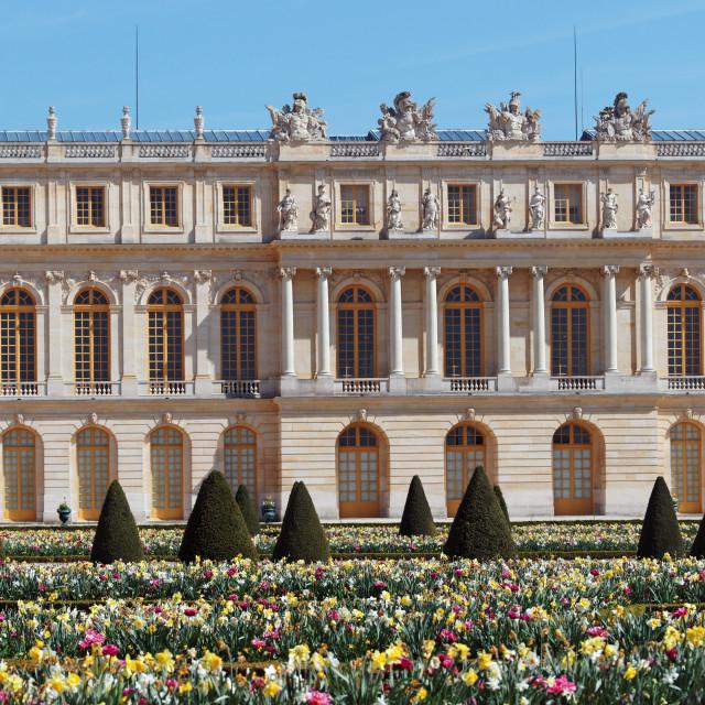 """""""Versailles palace"""" stock image"""