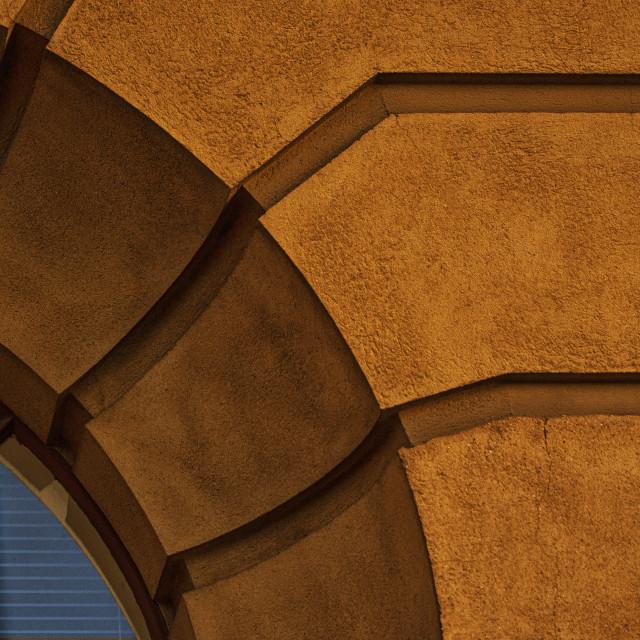 """""""Art Deco Window 1"""" stock image"""