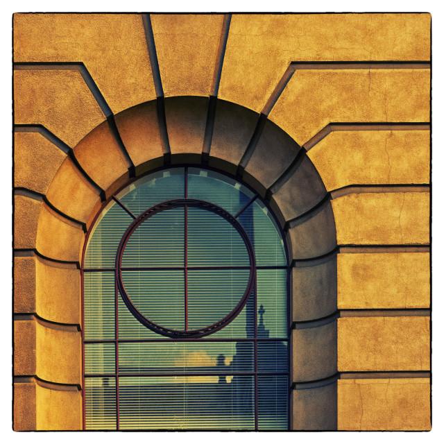 """""""Art Deco Window 2"""" stock image"""