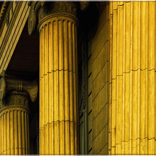 """Pillars"" stock image"