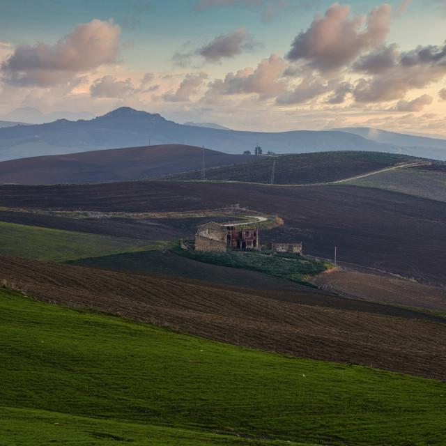 """""""Terra di Sicilia"""" stock image"""