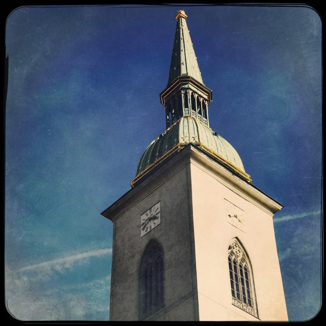 """""""St Martin's Cathedral"""" stock image"""