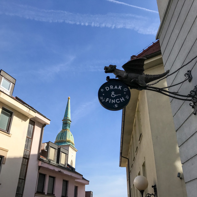 """Bratislava Dragon"" stock image"