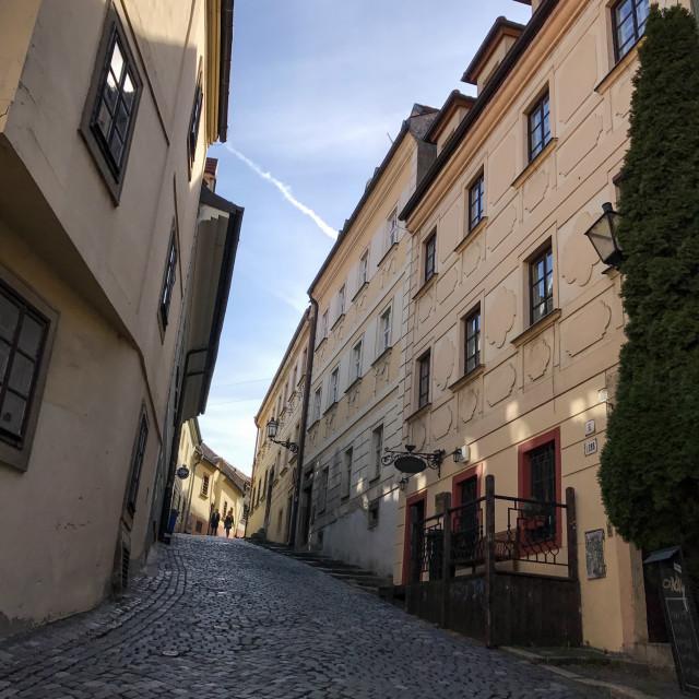 """Bratislava Cobbles"" stock image"