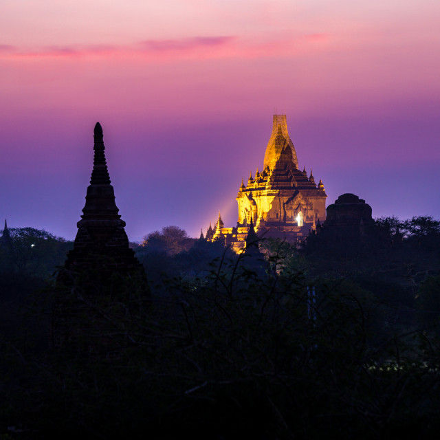 """Temples of Bagan"" stock image"