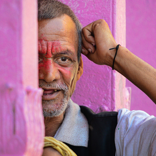 """Colors of HOLI 02"" stock image"