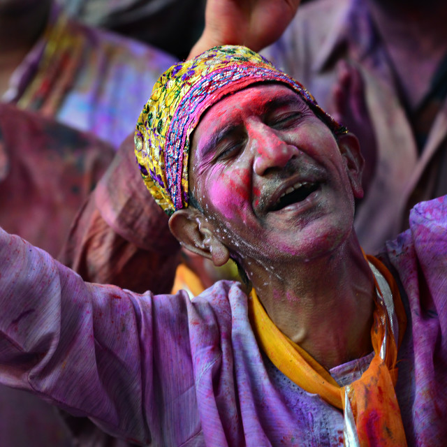 """Colors of HOLI 05"" stock image"