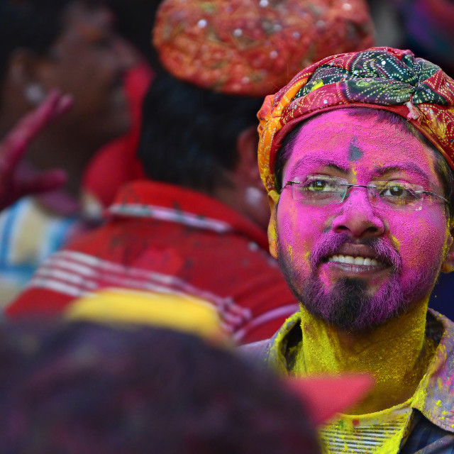 """Colors of HOLI 03"" stock image"