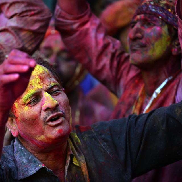 """Colors of HOLI 07"" stock image"