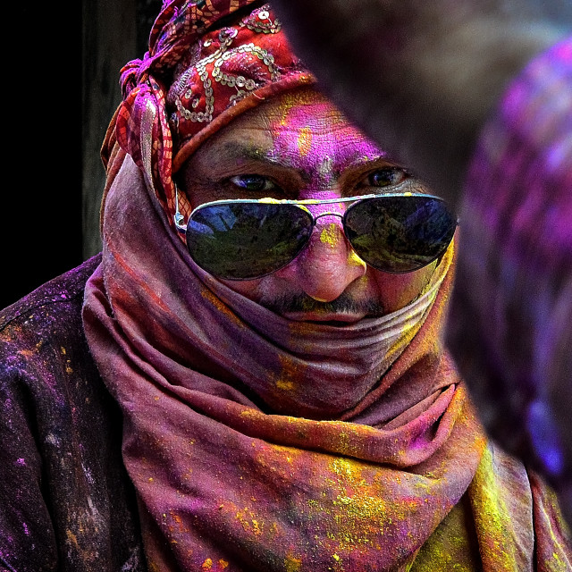 """Colors of HOLI 11"" stock image"