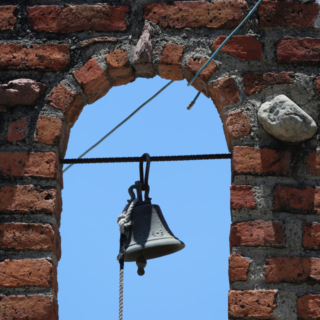 """Brick and Bell"" stock image"