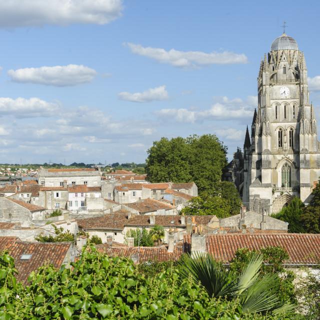 """Saintes, Charante, France"" stock image"