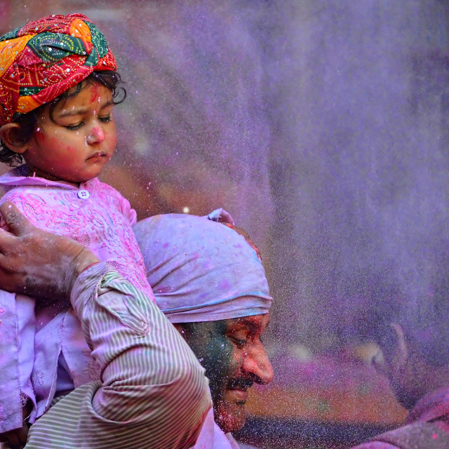 """Colors of HOLI 13"" stock image"