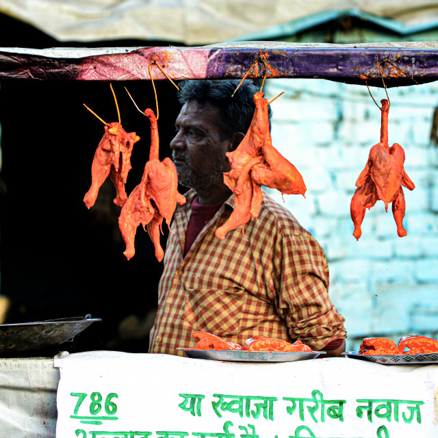 """Stall in Agra"" stock image"