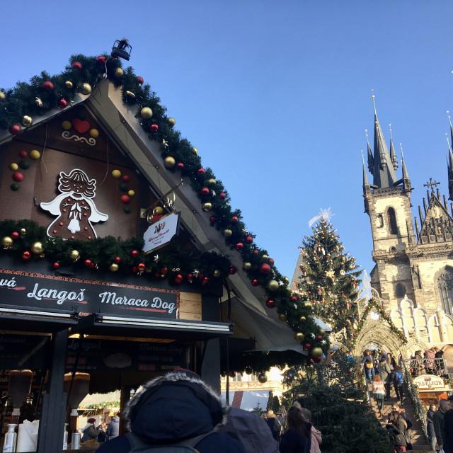 """Christmas Market"" stock image"