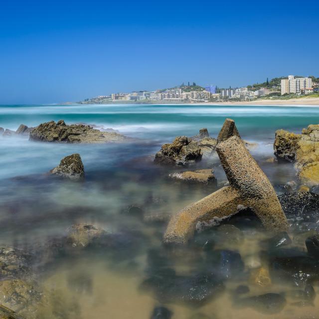 """Margate Beach Sunny Day"" stock image"