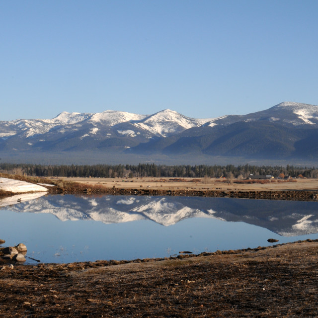 """Montana Landscape"" stock image"
