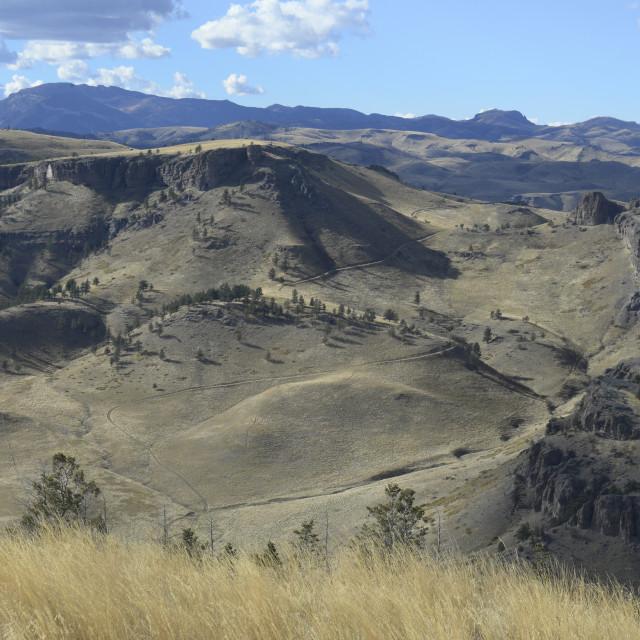 """Absaroka Wilderness - Beartooth Mountains, Montana"" stock image"