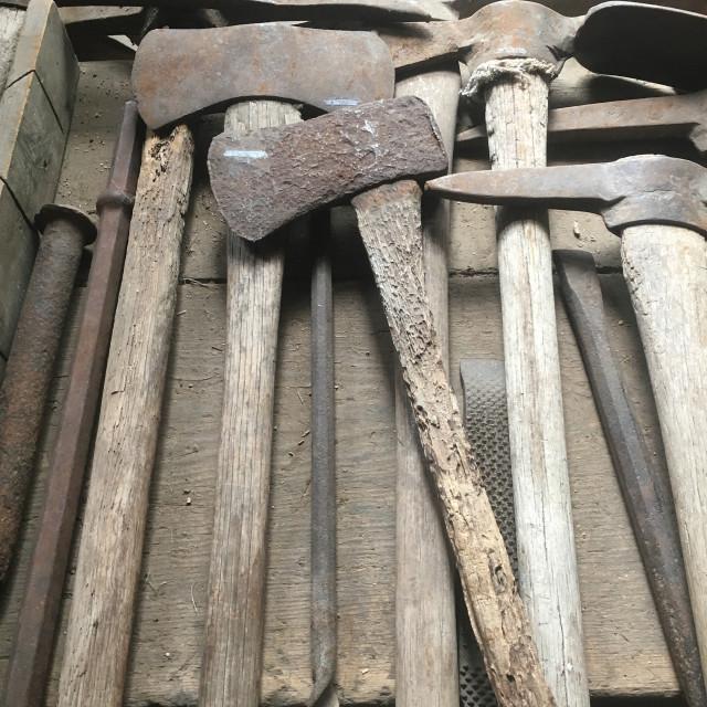 """Montana Artifacts"" stock image"