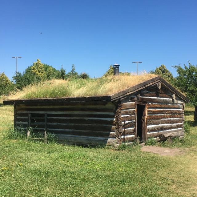 """Living Museum, Bozeman, Montana"" stock image"