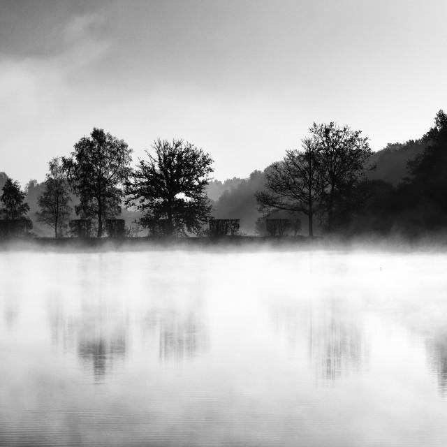 """""""Foggy reflection"""" stock image"""
