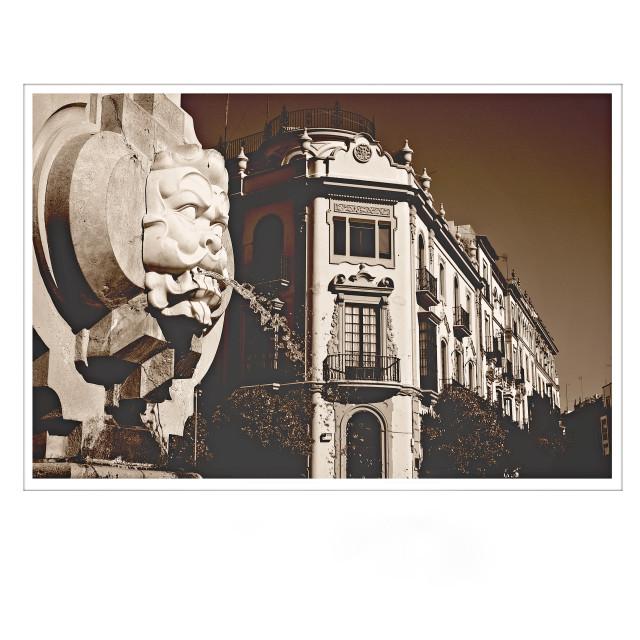 """""""Seville Spain"""" stock image"""