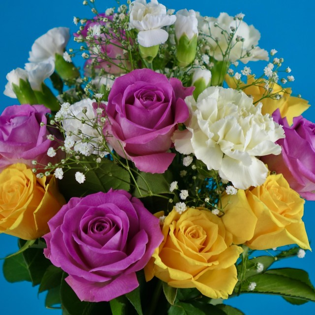 """""""Bouquet Of Flowers"""" stock image"""