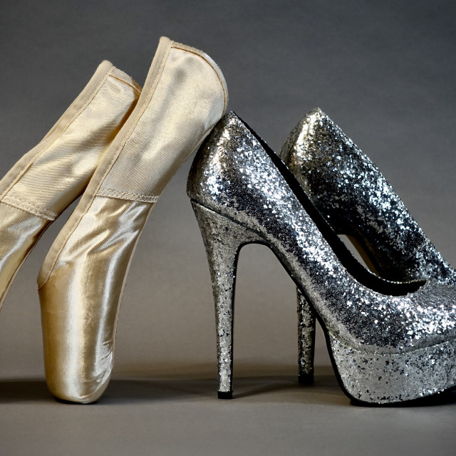 """""""Shoe Stories : Twinkle Toes"""" stock image"""